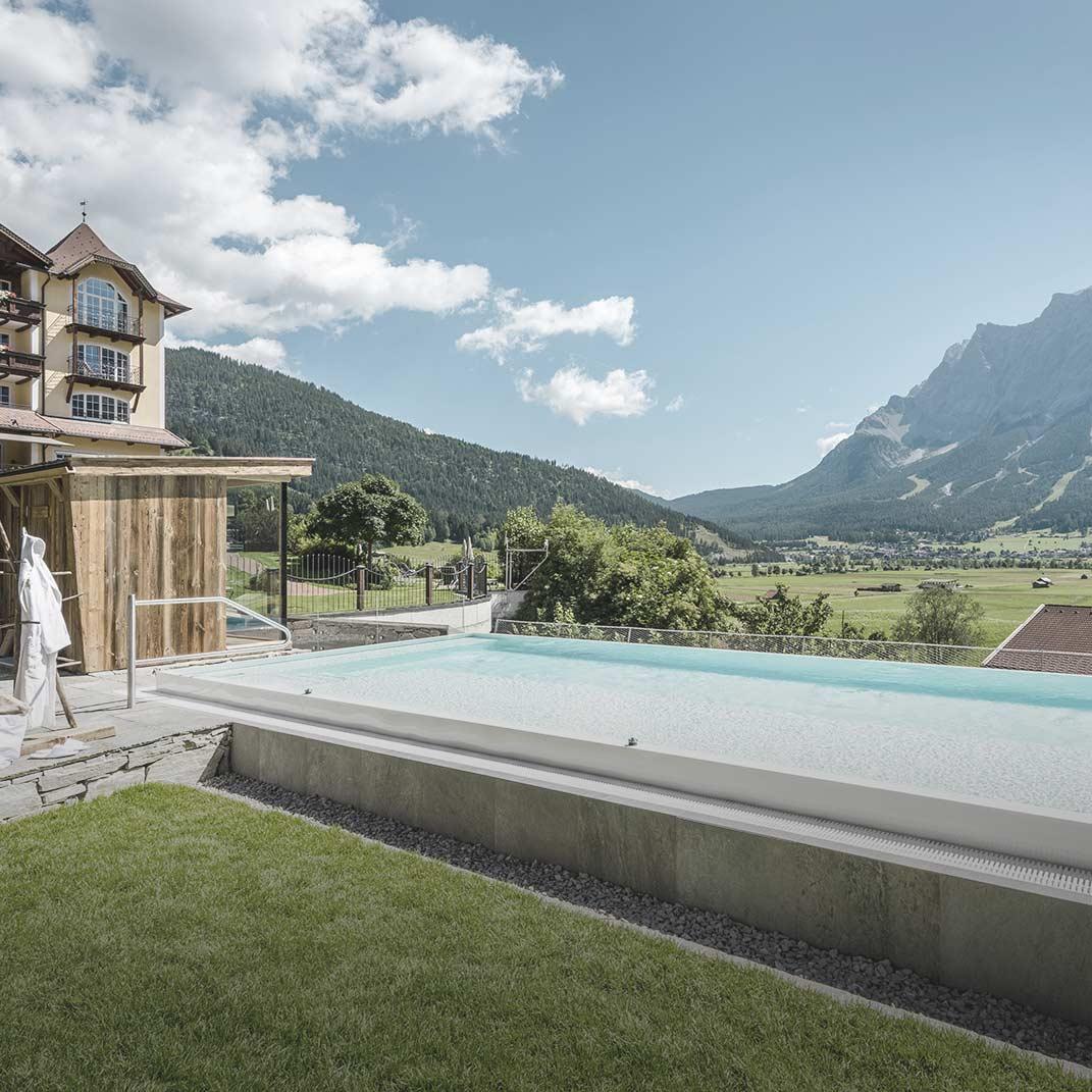 Hotel Post Lermoos, Ehrwald/Tirol, Neuer Solepool